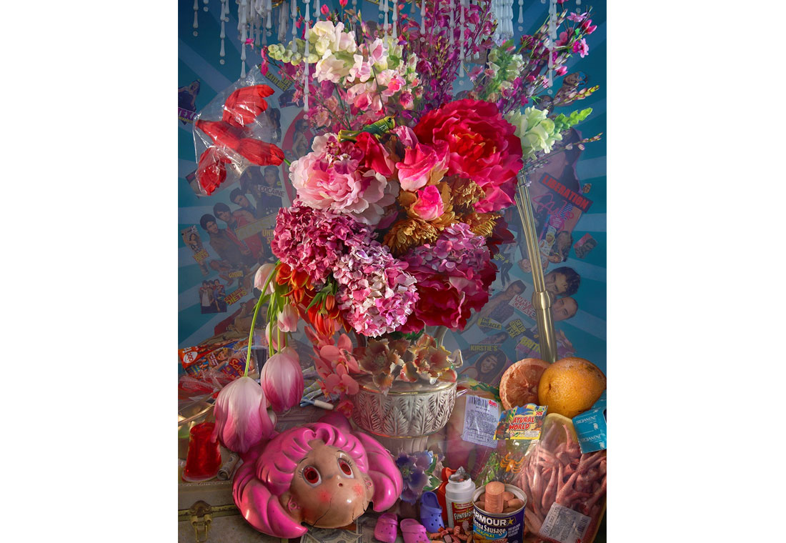 David LaChapelle, Earth Laughs in Flowers: The Lovers, 2008-2011, C-Print, 152.4x112.17 cm, Courtesy Studio David LaChapelle